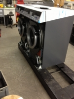 Socle 3 machines FX065 et FX080 Hauteur 160mm