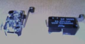 Micro contact à galet PRI610032077