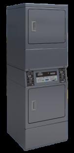 Séchoir double SDS10 PRIMUS 2 x 10 kilos Electrique commande par centrale de paiement, branchement TRI 380V