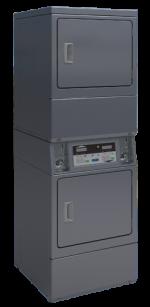 Séchoir double SDS10 PRIMUS 2 x 10 kilos Electrique commande monnayeur 1 pièce € ou jeton, branchement TRI 380V