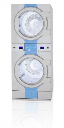 Séchoir double T5300S ECO ELECTROLUX 2 x 14 kilos  Chauffage Electrique, Tambours Galva