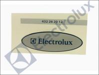 SIGNE ELECTROLUX REF: 432262012